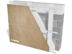 Facciata ventilataFRESATURA IN COSTA/FISSAGGIO A SCOMPARSA - LAMINAM