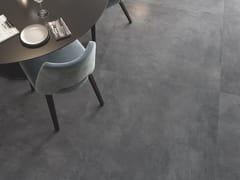 Casalgrande Padana, KERINOX Pavimento/rivestimento in gres porcellanato effetto metallo