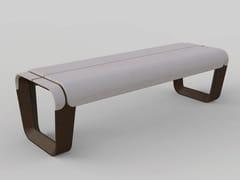 Panchina in materiale composito in stile moderno senza schienaleKEY   Panchina senza schienale - MANUFATTI VISCIO