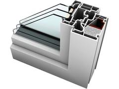 INTERNORM Italia, KF 410 Finestra in PVC con triplo vetro