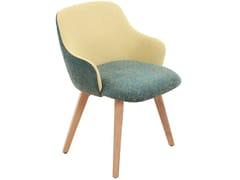 Sedia in tessuto con braccioliKISASA | Sedia in tessuto - ALANKARAM