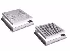 Kit griglia e telaio per pozzetti in polipropilene KIT GRIGLIA/TELAIO - Pozzetti, coperchi, griglie e telai