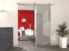 PROTEK®, KIT KRISTAL Kit per porta scorrevole in alluminio anodizzato