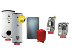 Trienergia, KIT TRIENERGIA ACS EVO Sistema a circolazione forzata per la produzione di ACS