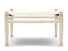Poggiapiedi in frassinoKK97170 | Safari Footstool - CARL HANSEN & SØN MØBELFABRIK A/S