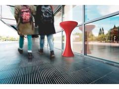 Posacenere per spazi pubblici da terra in acciaio inoxKLEPSY - CITY DESIGN