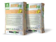 Kerakoll, KLIMA FIX Adesivo rasante minerale per pannelli termoisolanti