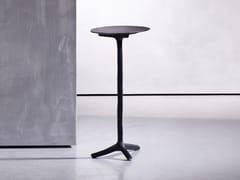 Tavolino rotondo in alluminio da salottoKLINK - PIET BOON