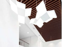 Knauf AMF, KNAUF ARMSTRONG EFFECTS ON METAL Pannelli per controsoffitto in metallo effetto legno
