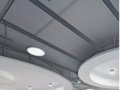 Pannelli per controsoffitto in metalloKNAUF ARMSTRONG MESH CONFIGURABLE - KNAUF CEILINGS SOLUTIONS