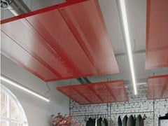 Pannelli per controsoffitto in rete metallica KNAUF ARMSTRONG MESH D-H 700 MT/CANOPY - KNAUF CEILINGS SOLUTIONS