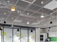Knauf AMF, KNAUF ARMSTRONG MESH LAY-IN Pannelli per controsoffitto in rete metallica