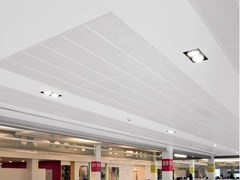 Pannelli per controsoffitto in metallo KNAUF ARMSTRONG METAL CLIP-IN - KNAUF CEILINGS SOLUTIONS