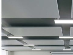Isole acustiche in metalloKNAUF ARMSTRONG METAL EASY CANOPY - KNAUF CEILINGS SOLUTIONS