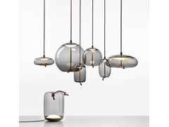 Lampada da tavolo a LED in vetro soffiatoKNOT | Lampada da tavolo - BROKIS