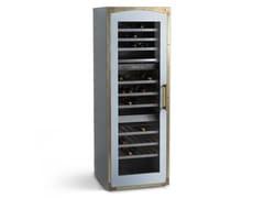 Cantinetta frigo verticale con anta in vetro per conservazione e servizioKNT002 | Cantinetta frigo a libera installazione - OFFICINE GULLO