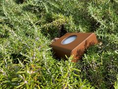 Faretto per esterno a LED in acciaio con vernice epossidicaKOKON   Faretto per esterno - ARALIA - LYX-LUMINAIRES