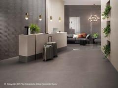 Pavimento in gres porcellanato effetto cemento KONE FLOOR | Pavimento - Kone