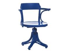 Sedia girevole in legno KONTOR | Sedia in legno -