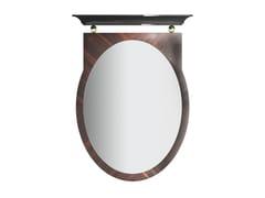 Specchio ovale da parete con cornice KORP T | Specchio - Korp