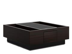 Tavolino basso quadrato in legno KOUNTACH L -