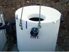 Separatore oli minerali compatto circolareKPL | Separatore oli circolare - PIRCHER