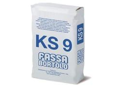 FASSA, KS 9 Intonaco di fondo a base di calce e cemento