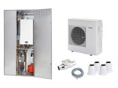 EMMETI, Sistema ibrido KSN con Althea SR Sistema ibrido con pompa di calore