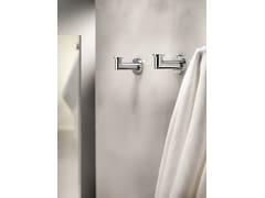 Porta asciugamani a gancio in ottone cromatoKUBIC 363001002 | Porta asciugamani a gancio - POMD'OR