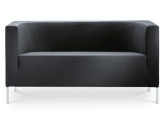 POLTRONA IMBOTTITA IN TESSUTOKUBIK KU-K2-N4 - LD SEATING