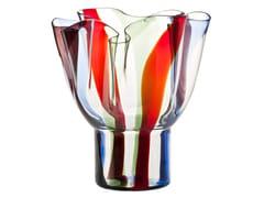 Vaso fatto a mano in vetro soffiatoKUKINTO - VENINI