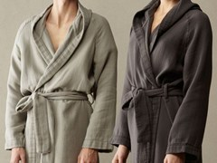 Society Limonta, KUR Accappatoio kimono in cotone soft double face