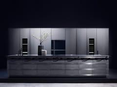 Cucina componibile in acciaio inox con isolaKURKUM - FENDI CUCINE MARCHIO IN LICENZA D'USO ALLA DITTA SCIC