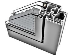 INTERNORM Italia, KV 350 Finestra in alluminio e PVC
