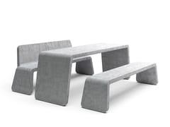 VESTRE, KYOTO TABLE | Tavolo per spazi pubblici in cemento  Tavolo per spazi pubblici in cemento