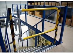 Cancello industriale con chiusura automaticaKEEGATE - ARTSTEEL