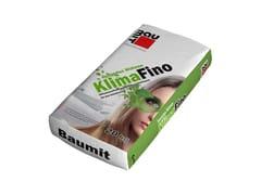 Rasante per intonacoKlimaFino - BAUMIT ITALIA