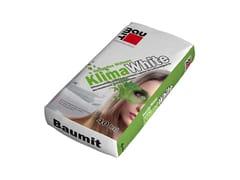 Baumit, KlimaWhite Intonaco a base di calce idraulica e idrata