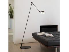 Lampada da terra a LED in alluminio con braccio flessibileL'AMICA | Lampada da terra - MARTINELLI LUCE