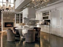 Cucina su misura in legno con isolaCONVIVIO | L'armonia del gusto - MARTINI MOBILI