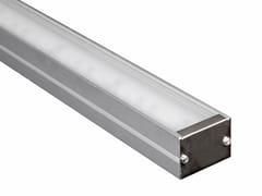 Profilo per illuminazione lineare in alluminio per moduli LEDL1 | Profilo per illuminazione lineare - ADHARA
