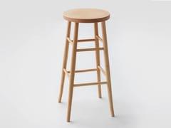 Sgabello alto in legno L60 | Sgabello alto - L60