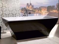 Vasca da bagno centro stanza in Quaryl® LA BELLE  - COLOUR ON DEMAND -