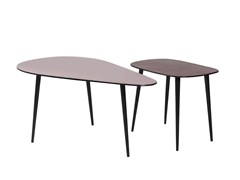Tavolino da caffè in alluminio LA COSTA -