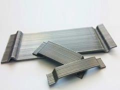 LA MATASSINA, LA GRAMIGNA PLACCHETTA-Fibre di rinforzo Fibre di rinforzo in acciaio incollate a placchetta