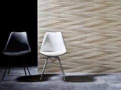 PERONDA, LACCIO Piastrelle con superficie tridimensionale in ceramica a pasta bianca