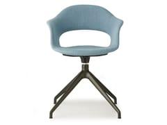 Sedia su trespolo in tessuto con braccioliLADY B POP | Sedia con braccioli - SCAB DESIGN