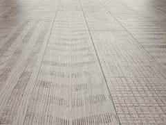 Pavimento/rivestimento in gres porcellanato effetto legnoLAGOM COATED WHITE - CERAMICHE MARCA CORONA