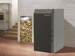 Caldaia a legna in metallo LAGUNA W UP 25/35 -