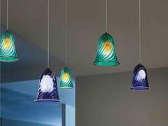 Lampada a sospensione in vetro di MuranoLAGUNA - ZAFFERANO AILATI LIGHTS